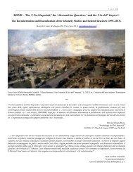 ROME – The 'I Fori Imperiali,' - Rome - The Imperial Fora