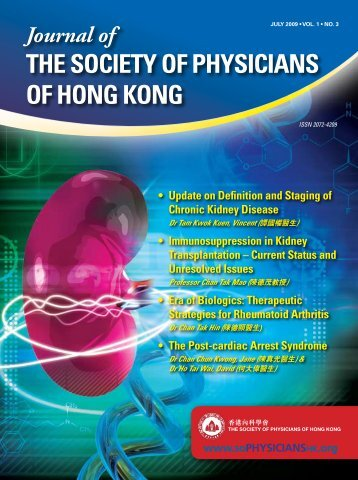 the Society of Physicians of Hong Kong