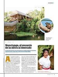 Nanciyaga, el encanto de la selva al desnudo - loquehacemarck.com
