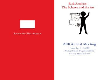 Preliminary Program & Registration Packet 2008 Annual Meeting