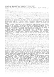 DECRETO DEL PRESIDENTE DELLA REPUBBLICA 4 giugno 1993 ...