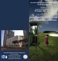 dialogando tra scienza e fede - DiT Dipartimento Per Le Tecnologie ...