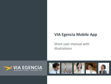 VIA Egencia Mobile App