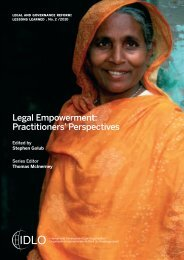 Legal Empowerment Practitioners' Perspectives