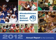 2012 Annual Report - Elizabethtown Area School District