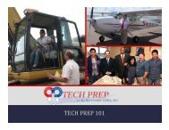 Tech Prep 101.pdf - Tech Prep of the Rio Grande Valley, Inc.