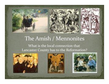 The Amish / Mennonites