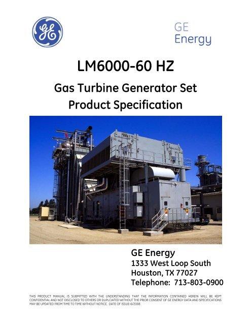 LM6000 60 Hz Grey 2008 Rev 2 pdf - Hilco Industrial