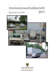 Immissionsschutzbericht 2011 - Sachsen-Anhalt