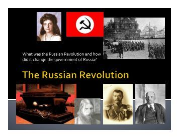 the transformation of russias government essay The second half of the 19th century was a period of reform and reaction in russia the transformation of russia from a backward government in villages and.