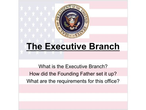 be a Chief Executive?