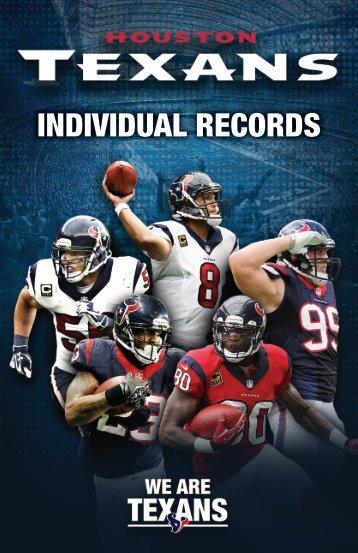 INDIVIDUAL RECORDS