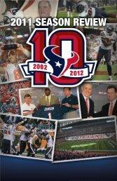 2011 SEASON REVIEW - Houston Texans Media Website