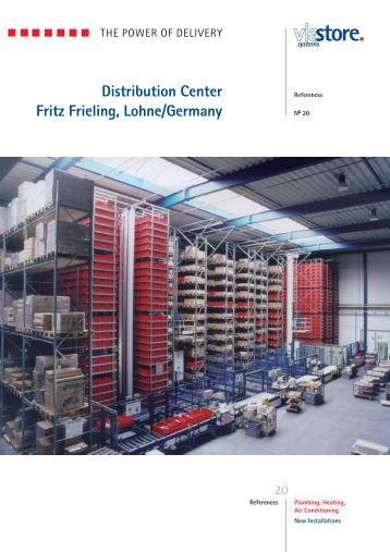 distribution center fritz frieling lohne germany viastore