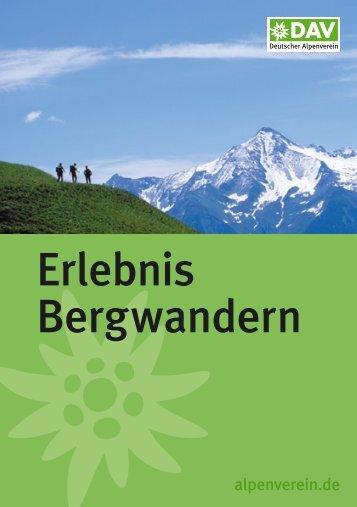 Erlebnis Bergwandern - Geo-Coaching.Net