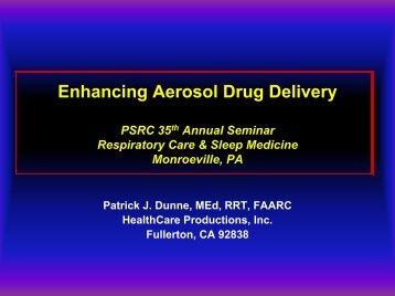 Enhancing Aerosol Drug Delivery