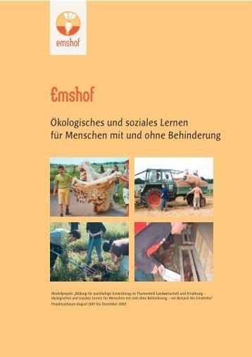 Ökologisches und soziales Lernen für Menschen mit und ... - Emshof
