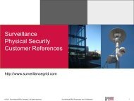 Surveillance Physical Security Customer References