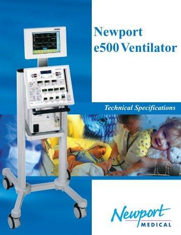 Newport e500Ventilator