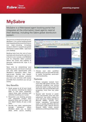 MySabre