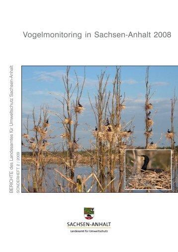 Vogelmonitoring in Sachsen-Anhalt 2008 - Dachverband Deutscher ...