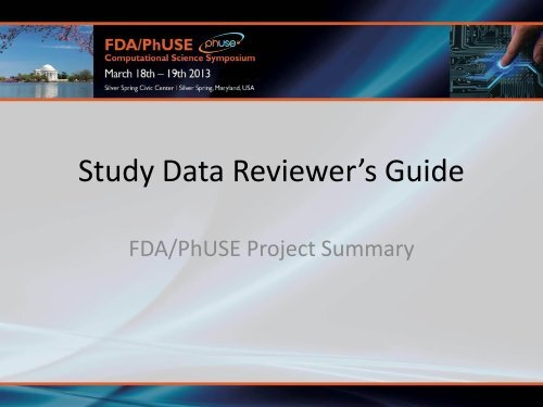 Study Data Reviewer S Guide