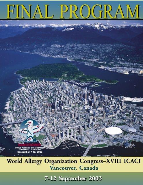 scientific program - World Allergy Organization