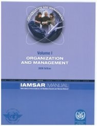 DOC 9731 IAMSAR Manual Volume 1, Organisation and Management
