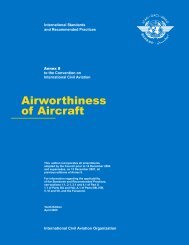Airworthiness of Aircraft