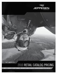 2010 RETAIL CATALOG PRICInG - JeppDirect