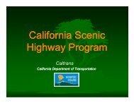 California i Scenic Highway Program