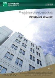 immobiliare dinamico - Borsa Italiana