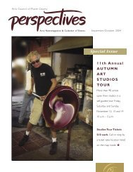 Sept/Oct 2004 - Arts Council of Placer County