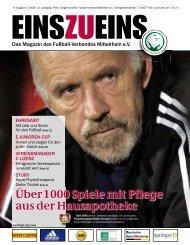 EINSZUEINS, Ausgabe 2-2008 - Fußball-Verband Mittelrhein e.V.
