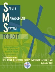 International Helicopter Safety Team Safety Management System Toolkit