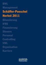 Schäffer-Poeschel Herbst 2011