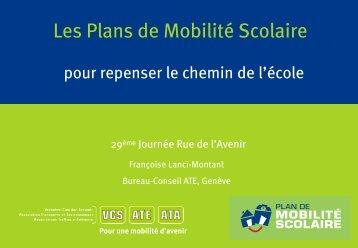 Les Plans de Mobilité Scolaire
