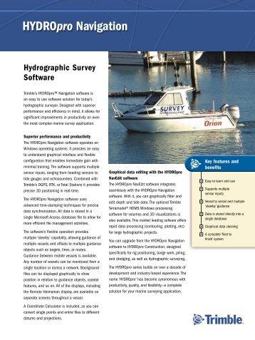 HYDROpro Navigation