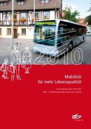 Mobilität für mehr Lebensqualität