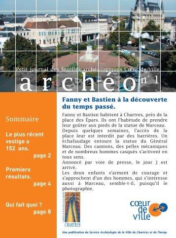 """Télécharger """"journal_num1.pdf"""" - le service Archéologie de la ville ..."""