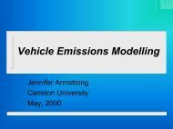 Vehicle Emissions Thesis - trans