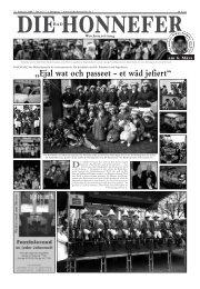 MELDUNG - Die Bad Honnefer Wochenzeitung