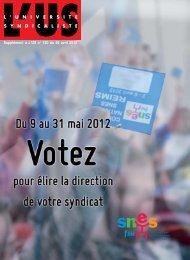 Supplément à L'US n° 720 du 26 avril 2012