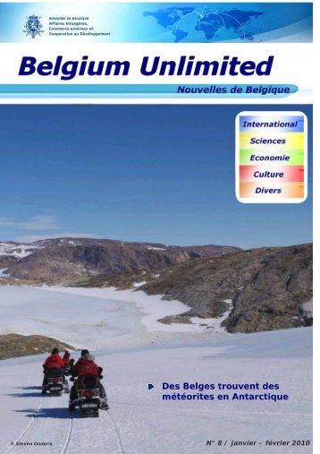Des Belges trouvent des météorites en Antarctique