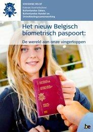 Het nieuw Belgisch biometrisch paspoort