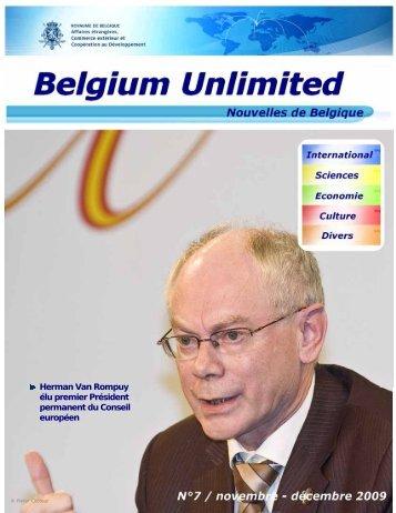 Numéro 7 (novembre - décembre 2009) (PDF, 1.73 MB - Belgium