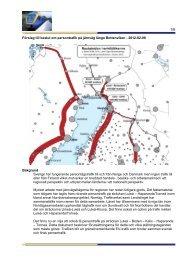 Förslag till beslut om persontrafik på järnväg längs ... - Haparanda stad