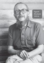Sigurd Klockare 100 år