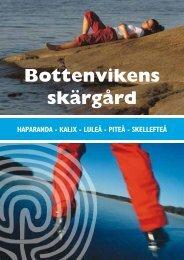 Bottenvikens skärgård (broschyr om skärgårdarna i Haparanda ...