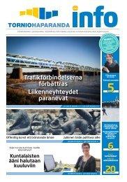 Trafikförbindelserna förbättras Liikenneyhteydet ... - Haparanda stad